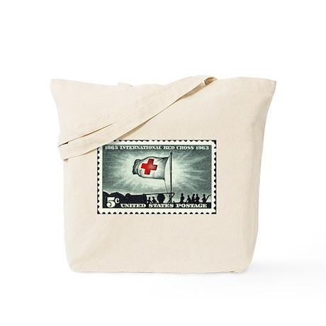 Red Cross Tote Bag