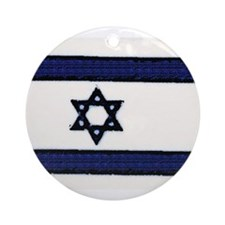 Israeli Flag Chrismukkah Ornament