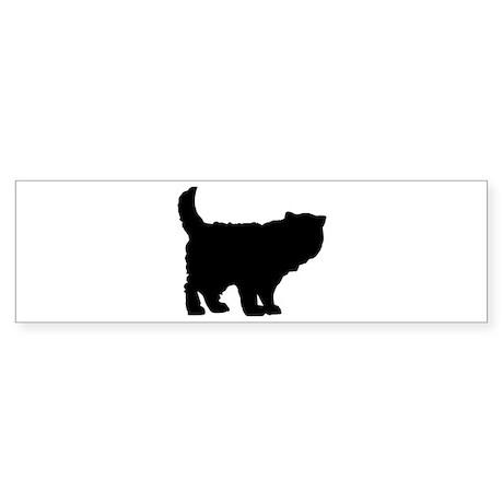 Persian cat Sticker (Bumper)