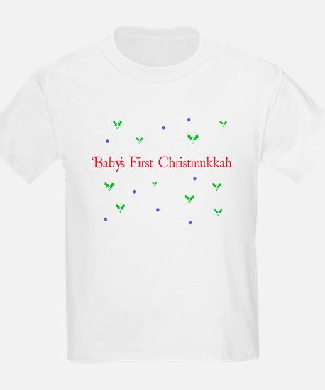 Baby's first Christmukkah T-Shirt