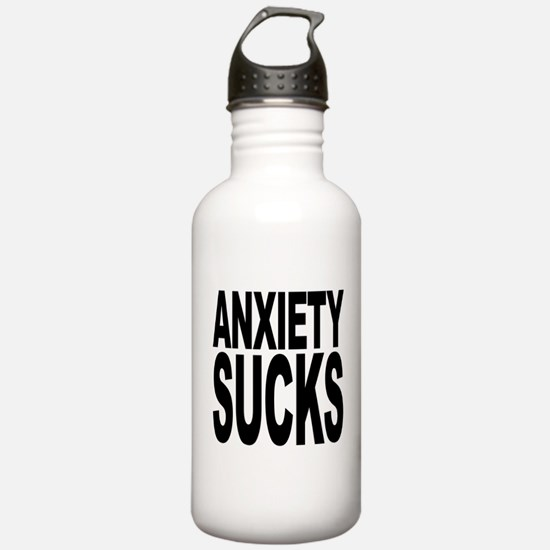 Anxiety Sucks Water Bottle