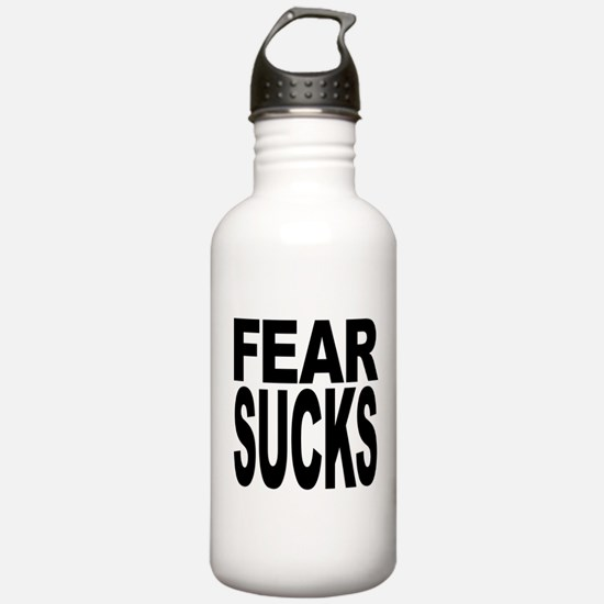 Fear Sucks Water Bottle