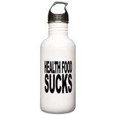 Health Food Sucks Water Bottle