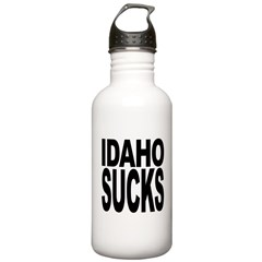 Idaho Sucks Water Bottle