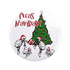 "Funny Christmas tree 3.5"" Button"