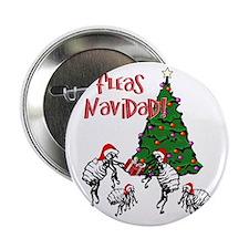 """Unique Navidad 2.25"""" Button"""