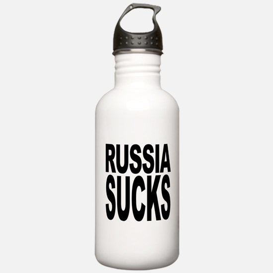 Russia Sucks Water Bottle