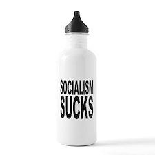 Socialism Sucks Water Bottle