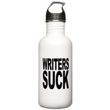 Writers Suck Water Bottle