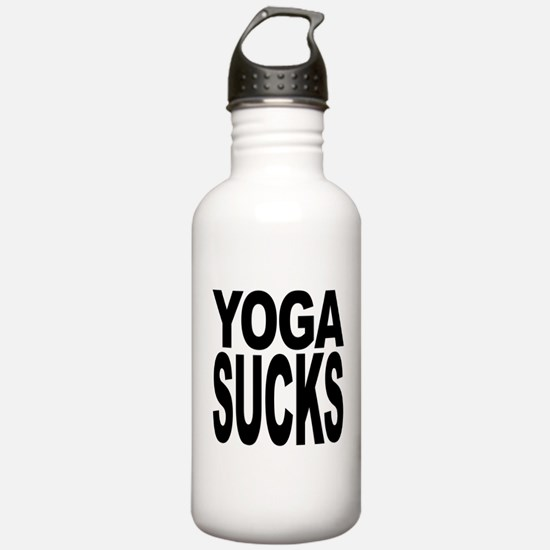 Yoga Sucks Water Bottle
