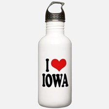 I Love Iowa Water Bottle