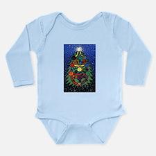 Christmas Tree of Life Long Sleeve Infant Bodysuit