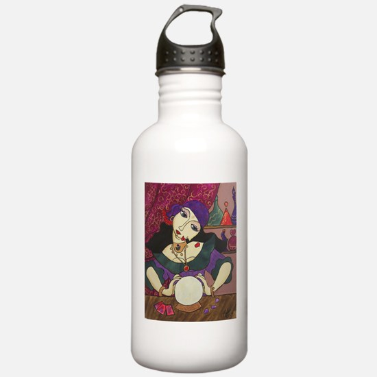 Crystal Ball Reader Water Bottle