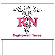 Registered Nurse Yard Sign