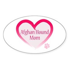 Afghan Pink Heart Decal
