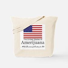 Amerijuana Tote Bag