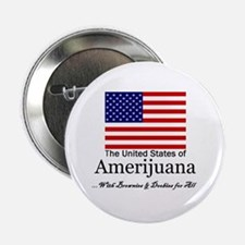 "Amerijuana 2.25"" Button (100 pack)"