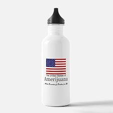 Amerijuana Sports Water Bottle
