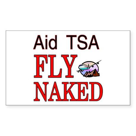 Aid TSA Sticker (Rectangle)