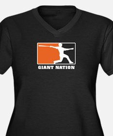 Giant nation v2 trans Plus Size T-Shirt