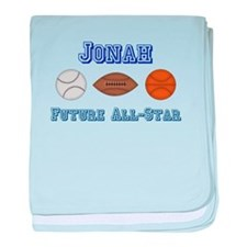 Jonah - Future All-Star baby blanket