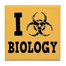 I Hazz Biology Tile Coaster