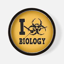 I Hazz Biology Wall Clock