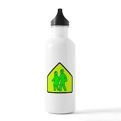 Alien School Xing Water Bottle