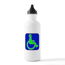 Handicapped Alien Water Bottle
