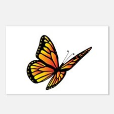 Butterfly Monarch Postcards (Package of 8)