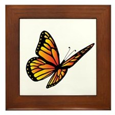 Butterfly Monarch Framed Tile