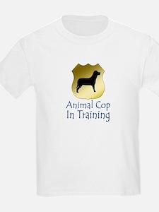 Animal Cop Kids T-Shirt