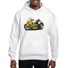 Goldwing Yellow Trike Hoodie