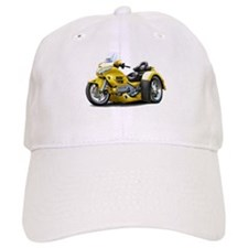 Goldwing Yellow Trike Baseball Cap