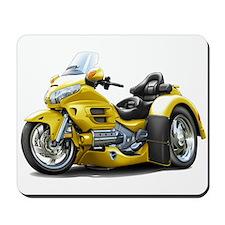 Goldwing Yellow Trike Mousepad