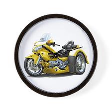 Goldwing Yellow Trike Wall Clock