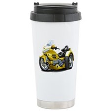 Goldwing Yellow Trike Travel Mug