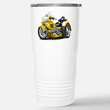 Goldwing Yellow Trike Travel Mug