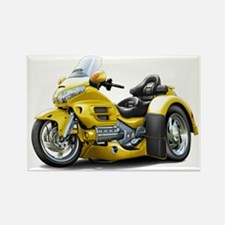 Goldwing Yellow Trike Rectangle Magnet