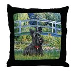 Bridge - Scotty #1 Throw Pillow