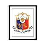 Philippines Coat of Arms Framed Panel Print