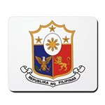 Philippines Coat of Arms Mousepad