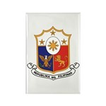Philippines Coat of Arms Rectangle Magnet (10 pack