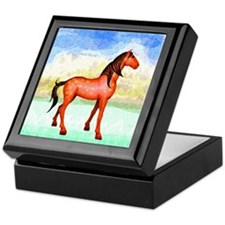 Spanish Mustang Keepsake Box