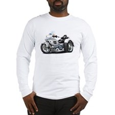 Goldwing White Trike Long Sleeve T-Shirt