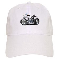 Goldwing White Trike Baseball Cap