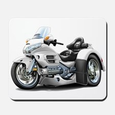 Goldwing White Trike Mousepad