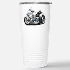 Goldwing White Trike Stainless Steel Travel Mug