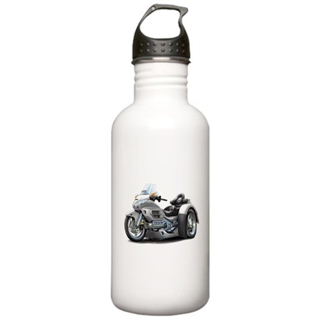 Goldwing Silver Trike Stainless Water Bottle 1.0L