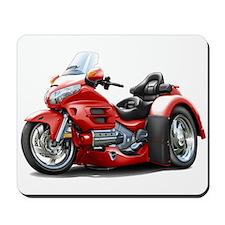 Goldwing Red Trike Mousepad